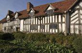 Hoe maak je een huis Tudor Model van karton