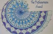 Hoe maak je een spiraal van de stelling van Pythagoras