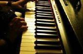 Het verplaatsen van een Spinet Piano