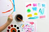 Hoe te maken aquarel schildert dat zijn veilig voor kinderen