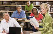 Vergelijking van een leraar-gecentreerde benadering Vs. een Student-gecentreerd aanpak