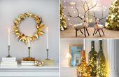 16 goedkope manieren om uw huis decoreren voor kerst