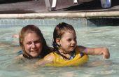 Kan je zwemmen in een zwembad met een Burn-blaar?