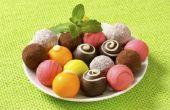 Hoe kleur van witte chocolade