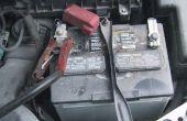 Een geschiedenis van de automobiel batterij
