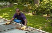 Hoe te repareren van een lekkende hoek goot