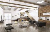 Decorating ideeën voor hoge muren
