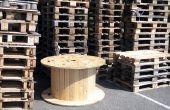 Hoe te recyclen van houten Pallets als u wilt maken van een stoel