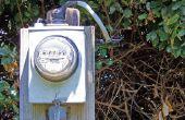 Het wijzigen van een elektrische Meter