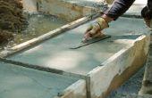 Zelfgemaakte isolerende beton