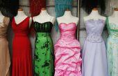 De ideeën van het ontwerp voor het maken van een jurk