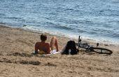 Hoe te behandelen bovenrug & schouders Peeling zonnebrand
