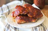 Hoe te maken gemakkelijk, Oven gebakken BBQ kip