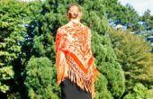 Hoe om te naaien een gebed sjaal