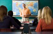 Activiteiten van de geschiedenis van de wereld van High School