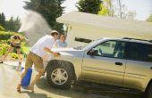 Hoe een auto wassen