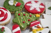 De ideeën van de partij Menu van de Kerstmis van de school