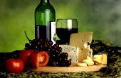 Wijn & kaas bruiloft ideeën