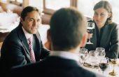 Hoe zich te gedragen op een zakelijk diner