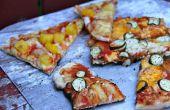 Hoe een Pizza feestje met behulp van een buitengrill