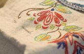Hoe maak je een rechte lijn borduurwerk Stitch