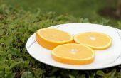 Homemade oranje kaneel Christmas Garland