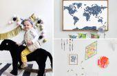 Gebruik van deze projecten voor het decoreren van een Kid's kamer
