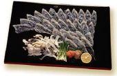 Hoe zijn Japanse koks voorzichtig met het voorbereiden van de Globefish Fugu genoemd?