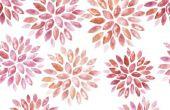 Het aanpassen van de gewone gordijnen met textielverf