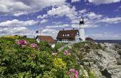 De beste plaatsen om te wonen in Maine