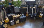 Hoe sluit luidsprekers aan op een gitaarversterker