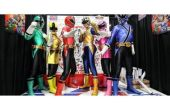 Hoe maak je een Power Rangers kostuum