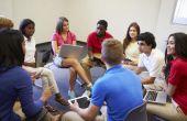 Kleine groep onderwerpen voor tieners