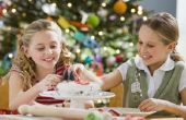 Kerst Cake Decorating ideeën voor kinderen