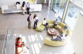 Het ontwerpen van een Office-Lobby