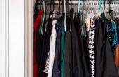 How to Get Rid van de muffe geur in een kleding kast