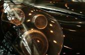 Hoe vervang ik een Mercedes A-klasse koplamp-lamp