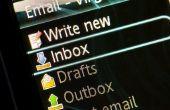 Het afdrukken van een HTML E-mail