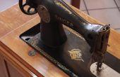 Hoe om te herstellen van de antieke Singer pedaal naaimachines
