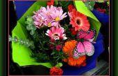 Verschillende soorten bloemen gebruikt in bloemstukken