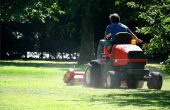 Het wijzigen van een accu grasmaaier