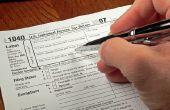 Hoe de praktijk indienen van belastingen