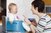 Op welke leeftijd geef je een Baby Gerber eerste voedsel, tweede voedingsmiddelen, & derde voedingsmiddelen?