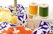 Hoe een 2502C Singer naaimachine draad