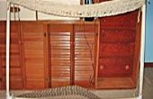 Hoe maak je een touw hangmat weven Stand