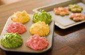 Wat voor soort voedsel kleuren kan ik gebruiken om een goede kleur glazuur?