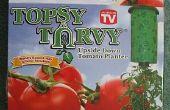 """Hoe Plant een """"Topsy Turvy"""" tomaat"""