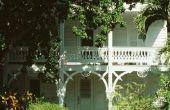 Zuidelijke plantage huis verfkleuren
