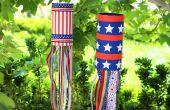 Hoe maak je een patriottische Wind Sok