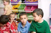 Het beheren van een twee-jarige klaslokaal